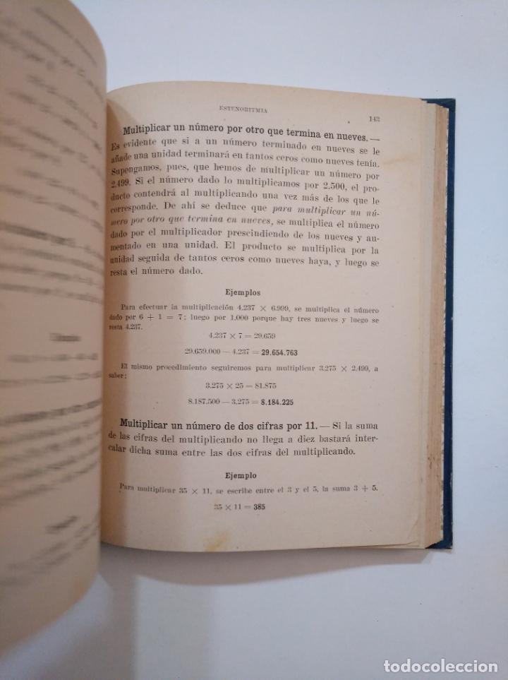 Libros de segunda mano de Ciencias: ARITMETICA ELEMENTAL. RAFAEL MARIMON SCH. P. TERCER CICLO 1944. TDK373 - Foto 3 - 154636330