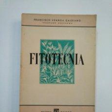 Libros de segunda mano - FITOTECNIA. NORMAS GENERALES DE CULTIVO. - URANGA GALDIANO, FRANCISCO. TDK373 - 154658222