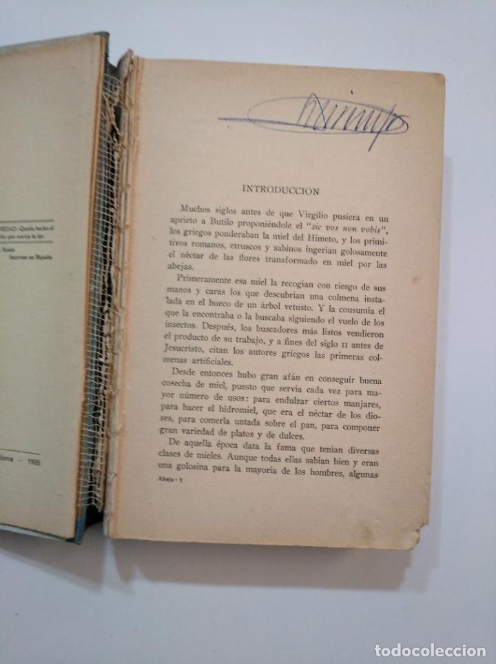 Libros de segunda mano: LA ABEJA PRODUCTIVA. MÉTODOS MODERNOS DE APICULTURA PRÁCTICA. 1935. MARIO ROBLES. tdk373 - Foto 4 - 154659822