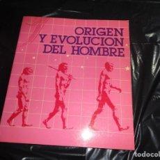 Libros de segunda mano: ORIGEN Y EVOLUCIÓN DEL HOMBRE MINISTERIO DE CULTURA 1984.. Lote 154676558
