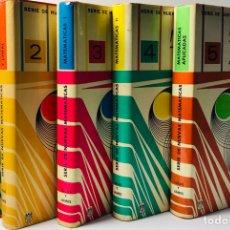 Libros de segunda mano de Ciencias - SERIE DE NUEVAS MATEMATICAS ·· 5 VOLS. LUCAS - JAMES ·· - 154836882