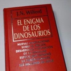 Libros de segunda mano: EL ENIGMA DE LOS DINOSAURIOS - J.N. WILFORD - RBA - 2 - NUEVO. Lote 155025138