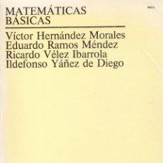 Libros de segunda mano de Ciencias: MATEMÁTICAS BÁSICAS. UNED. Lote 155134766