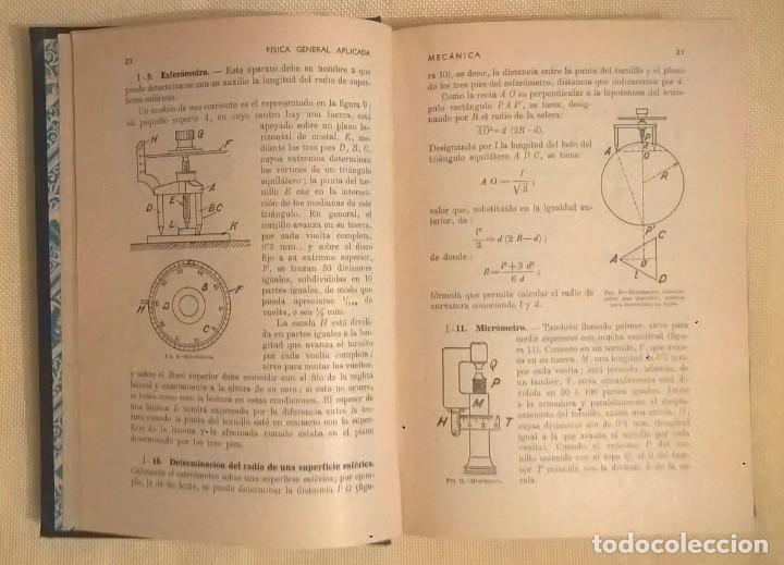 Libros de segunda mano de Ciencias: FÍSICA GENERAL APLICADA,DE FRANCISCO F.SINTES OLIVES - EDITORIAL RAMÓN SOPENA (BARCELONA) - AÑO 1955 - Foto 11 - 155188594