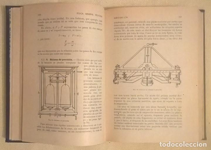 Libros de segunda mano de Ciencias: FÍSICA GENERAL APLICADA,DE FRANCISCO F.SINTES OLIVES - EDITORIAL RAMÓN SOPENA (BARCELONA) - AÑO 1955 - Foto 13 - 155188594