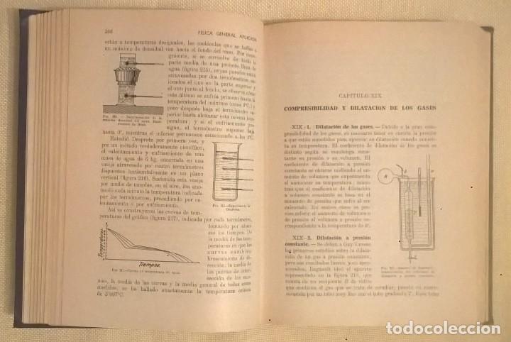 Libros de segunda mano de Ciencias: FÍSICA GENERAL APLICADA,DE FRANCISCO F.SINTES OLIVES - EDITORIAL RAMÓN SOPENA (BARCELONA) - AÑO 1955 - Foto 16 - 155188594