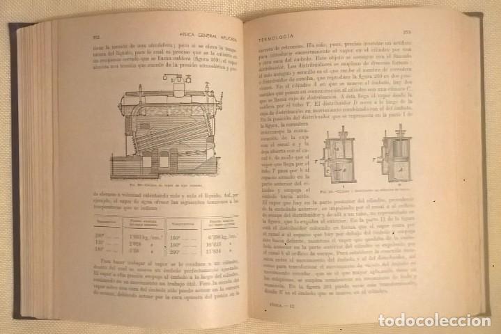 Libros de segunda mano de Ciencias: FÍSICA GENERAL APLICADA,DE FRANCISCO F.SINTES OLIVES - EDITORIAL RAMÓN SOPENA (BARCELONA) - AÑO 1955 - Foto 17 - 155188594