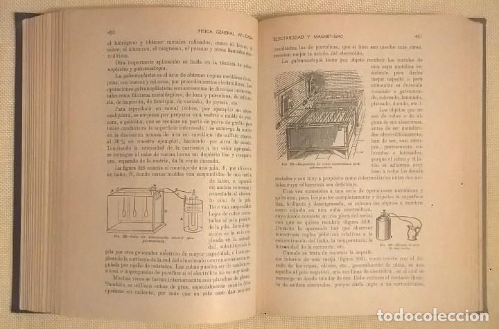 Libros de segunda mano de Ciencias: FÍSICA GENERAL APLICADA,DE FRANCISCO F.SINTES OLIVES - EDITORIAL RAMÓN SOPENA (BARCELONA) - AÑO 1955 - Foto 19 - 155188594