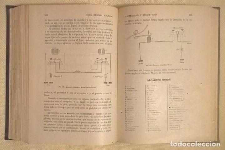 Libros de segunda mano de Ciencias: FÍSICA GENERAL APLICADA,DE FRANCISCO F.SINTES OLIVES - EDITORIAL RAMÓN SOPENA (BARCELONA) - AÑO 1955 - Foto 21 - 155188594
