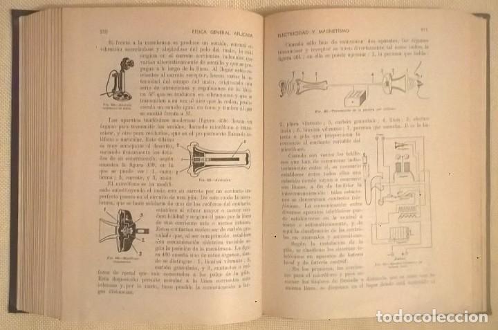 Libros de segunda mano de Ciencias: FÍSICA GENERAL APLICADA,DE FRANCISCO F.SINTES OLIVES - EDITORIAL RAMÓN SOPENA (BARCELONA) - AÑO 1955 - Foto 22 - 155188594