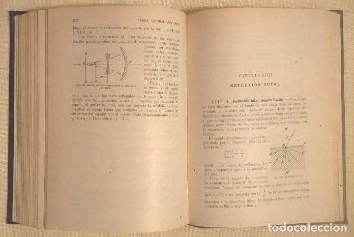 Libros de segunda mano de Ciencias: FÍSICA GENERAL APLICADA,DE FRANCISCO F.SINTES OLIVES - EDITORIAL RAMÓN SOPENA (BARCELONA) - AÑO 1955 - Foto 25 - 155188594
