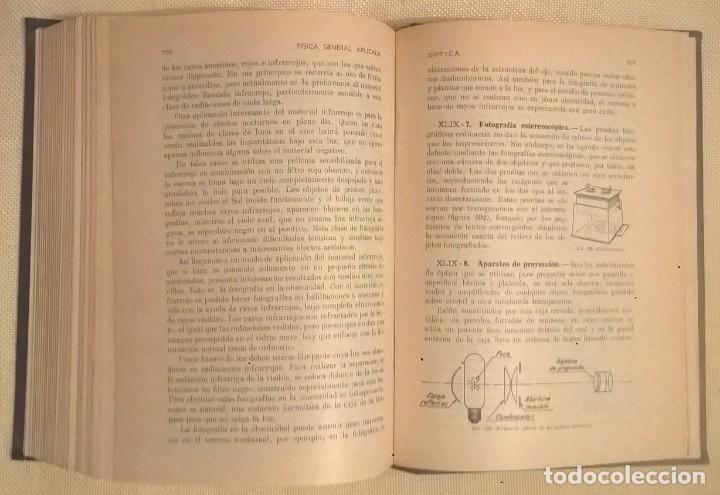 Libros de segunda mano de Ciencias: FÍSICA GENERAL APLICADA,DE FRANCISCO F.SINTES OLIVES - EDITORIAL RAMÓN SOPENA (BARCELONA) - AÑO 1955 - Foto 27 - 155188594