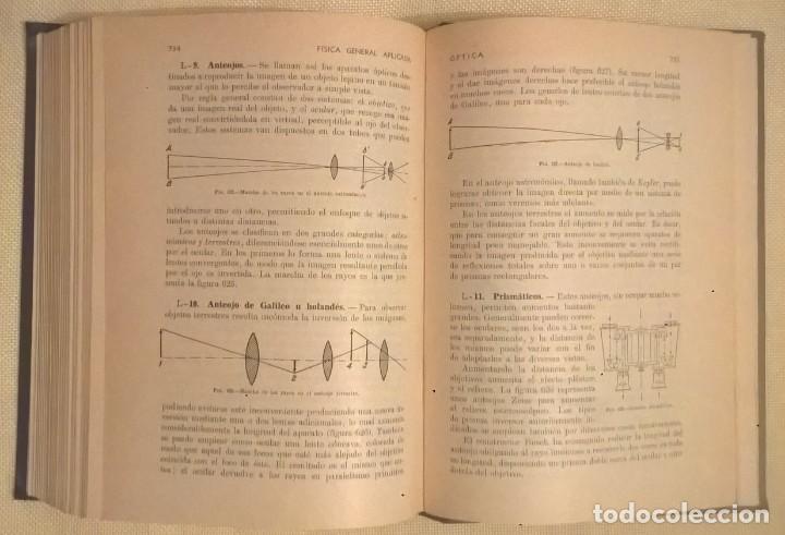 Libros de segunda mano de Ciencias: FÍSICA GENERAL APLICADA,DE FRANCISCO F.SINTES OLIVES - EDITORIAL RAMÓN SOPENA (BARCELONA) - AÑO 1955 - Foto 28 - 155188594