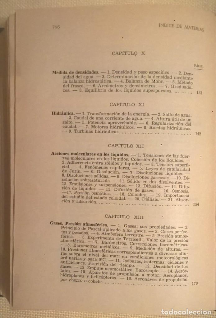 Libros de segunda mano de Ciencias: FÍSICA GENERAL APLICADA,DE FRANCISCO F.SINTES OLIVES - EDITORIAL RAMÓN SOPENA (BARCELONA) - AÑO 1955 - Foto 33 - 155188594