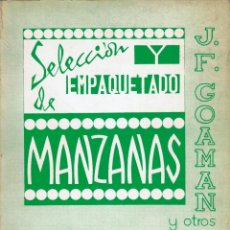 Libros de segunda mano: SELECCIÓN Y EMPAQUETADO DE MANZANAS. Lote 155247254