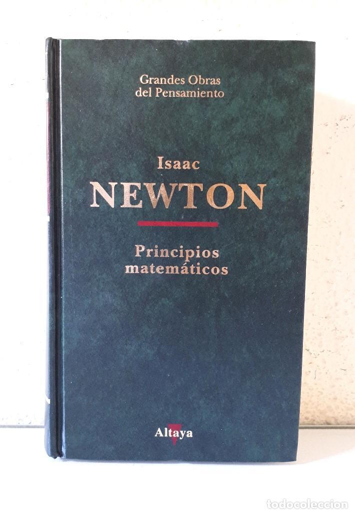 ISAAC NEWTON / PRINCIPIOS MATEMÁTICOS DE LA FILOSOFIA NATURAL (PR. ANTONIO ESCOHOTADO) / ALTAYA 1994 (Libros de Segunda Mano - Ciencias, Manuales y Oficios - Física, Química y Matemáticas)