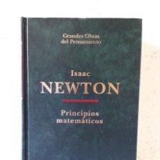 Libros de segunda mano de Ciencias: ISAAC NEWTON / PRINCIPIOS MATEMÁTICOS DE LA FILOSOFIA NATURAL (PR. ANTONIO ESCOHOTADO) / ALTAYA 1994. Lote 155479406
