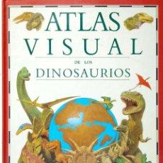 Libros de segunda mano: ATLAS VISUAL DE LOS DINOSAURIOS. BRUÑO. Lote 155521294