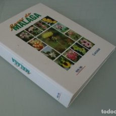 Libros de segunda mano: FLORES DE MALAGA: COLECCIÓN COMPLETA FICHERO CON 178 FICHAS ILUSTRADAS CON DESCRIPCION - FLORA . Lote 155661014