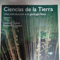 Libros de segunda mano: LIBRO CIENCIAS DE LA TIERRA UNED. Lote 220715282