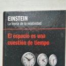 Libros de segunda mano de Ciencias: EINSTEIN LA TEORÍA DE LA RELATIVIDAD. Lote 155853701