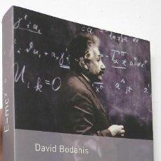 Libros de segunda mano de Ciencias: E=MC2 - DAVID BODANIS. Lote 155945894