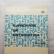 Livres d'occasion: EJERCICIOS DE ESTADÍSTICA SIXTO RÍOS. Lote 155993634
