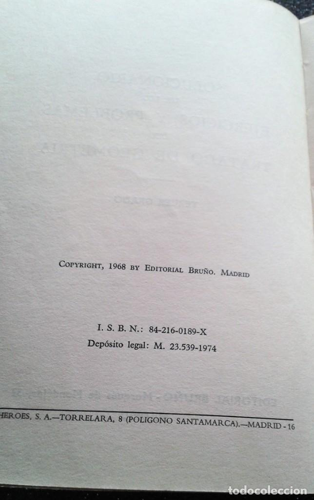 Libros de segunda mano de Ciencias: GEOMETRÍA TERCER GRADO SOLUCIONARIO BRUÑO 1974 - Foto 3 - 156028734