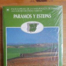 Libros de segunda mano: PÁRAMOS Y ESTEPAS. ENCICLOPEDIA DE LA NATURALEZA DE ESPAÑA, TOMO 1. BERNARDO ARROYO. . Lote 156413550