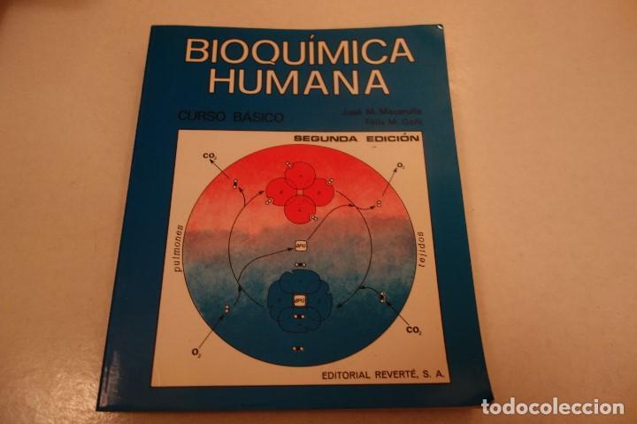 BIOQUÍMICA HUMANA- (Libros de Segunda Mano - Ciencias, Manuales y Oficios - Biología y Botánica)