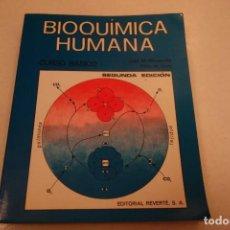 Libros de segunda mano: BIOQUÍMICA HUMANA- . Lote 156423766