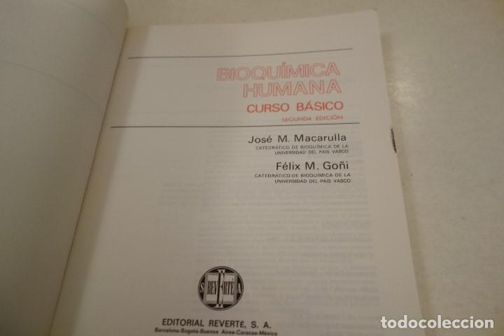 Libros de segunda mano: BIOQUÍMICA HUMANA- - Foto 2 - 156423766