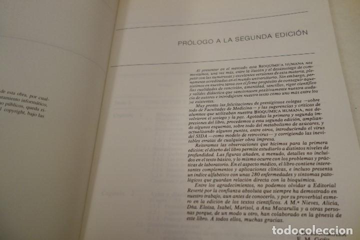 Libros de segunda mano: BIOQUÍMICA HUMANA- - Foto 3 - 156423766