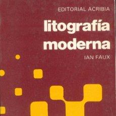 Libros de segunda mano: LITOGRAFIA MODERNA. Lote 156528154