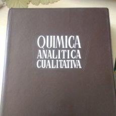 Libros de segunda mano de Ciencias: QUÍMICA ANALÍTICA CUALITATIVA. BURRIEL, LUCENA Y ARRIBAS. EDITORIAL PARANINFO. AÑO 1964. CARTONÉ.. Lote 156595805