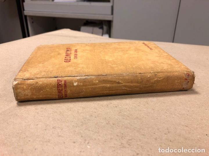 TRATADO DE GEOMETRÍA (TERCER GRADO). EDICIONES BRUÑO 1958. (Libros de Segunda Mano - Ciencias, Manuales y Oficios - Física, Química y Matemáticas)