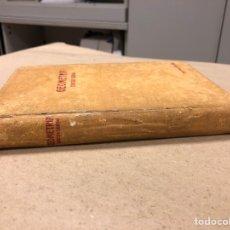 Libros de segunda mano de Ciencias: TRATADO DE GEOMETRÍA (TERCER GRADO). EDICIONES BRUÑO 1958.. Lote 156731254