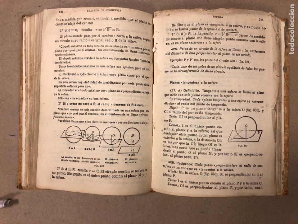 Libros de segunda mano de Ciencias: TRATADO DE GEOMETRÍA (TERCER GRADO). EDICIONES BRUÑO 1958. - Foto 6 - 156731254