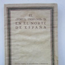 Libros de segunda mano: IGNACIO ECHEVERRÍA BALLARÍN Y SIMEÓN DE PEDRO. PINUS INSIGNIS D.: CRECIMIENTO Y PRODUCCIÓN... 1931. Lote 156849102