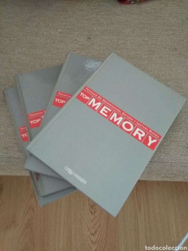TOP MEMORY. TÉCNICAS DE MEMORIZACIÓN, ESTUDIO Y LECTURA RÁPIDA. 4 TOMOS. ORBIS FABRI (Libros de Segunda Mano - Ciencias, Manuales y Oficios - Física, Química y Matemáticas)