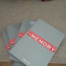 Libros de segunda mano de Ciencias: TOP MEMORY. TÉCNICAS DE MEMORIZACIÓN, ESTUDIO Y LECTURA RÁPIDA. 4 TOMOS. ORBIS FABRI. Lote 157263806