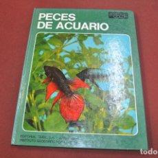 Libros de segunda mano: PECES DE ACUARIO , DOCUMENTAL EN COLOR - EDITORIAL TEIDE - ANB. Lote 157388614