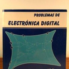 Libros de segunda mano de Ciencias: PROBLEMAS DE ELECTRÓNICA DIGITAL. DELGADO, A.E. 2ª ED. MEJORADA ISBN 8488667469.. Lote 157868774