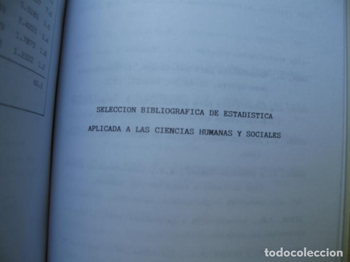 Libros de segunda mano de Ciencias: PROBLEMAS RESUELTOS DE ESTADÍSTICA DESCRIPTIVA Y PROBABILIDAD.- JUAN CARRO RAMOS.- EDIC. AUTOR. 1985 - Foto 7 - 157383590
