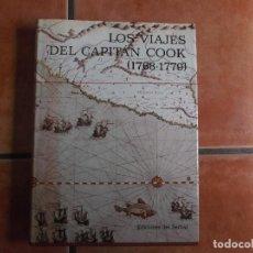 Libros de segunda mano: LOS VIAJES DEL CAPITAN COOK (1768-1779), EDICIONES SERBAL, MUY ILUSTRADO, 1988, A.GRENFELL PRICE. Lote 210822174