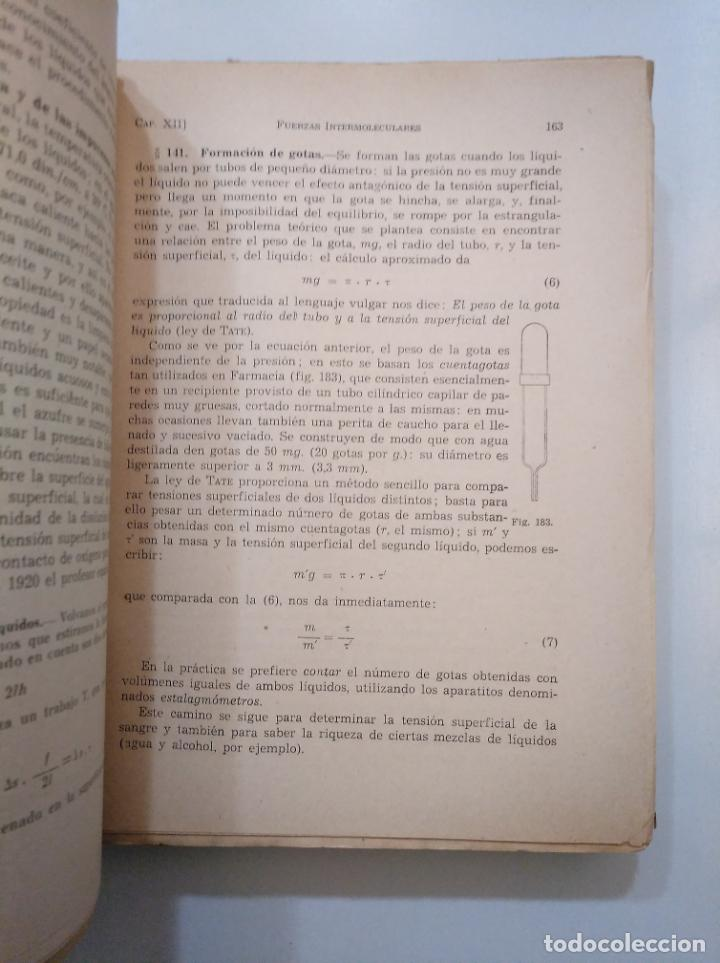 Libros de segunda mano de Ciencias: COMPENDIO DE FÍSICA GENERAL. - MINGARRO, A. EDITORIAL SUMMA. 1954. TDK379 - Foto 2 - 158537766