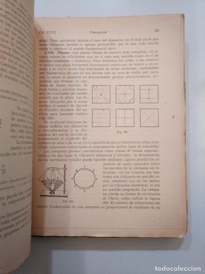 Libros de segunda mano de Ciencias: COMPENDIO DE FÍSICA GENERAL. - MINGARRO, A. EDITORIAL SUMMA. 1954. TDK379 - Foto 3 - 158537766