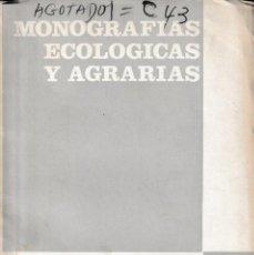 Libros de segunda mano: SUELOS DE GALICIA: ANÁLISIS Y NECESIDADES DE FERTILIZANTES... (MUÑOZ TABOADELA 1965) SIN USAR. Lote 158661298