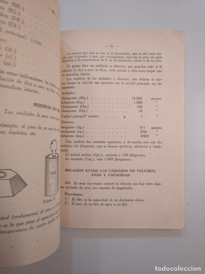 Libros de segunda mano de Ciencias: MATEMATICAS. TEXTOS E.P. PRIMER CURSO. EDITORIAL BIBLIOGRAFICA ESPAÑOLA 1948 MADRID. TDK380 - Foto 3 - 158729550