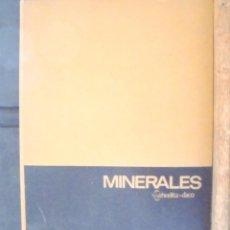 Libros de segunda mano: MINERALES, SCHEELITA-DACO 1966 E. KUCERA I MINERALES COLECCIÓN CERVELLÓ, BARCELONA. 246 MINERALS . Lote 158965258
